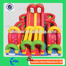New style forest adventure inflatable obstacle /dinosaur ancient times inflatable obstacle