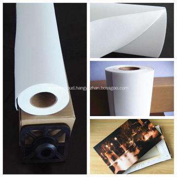 Inkjet print cotton canvas roll