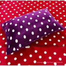 Горячая продажа текстиля фиолетовая мягкая детская подушка