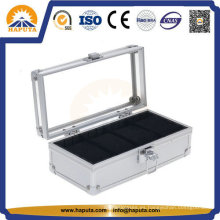 Pequeña caja de acrílico para relojería y joyería Hw-5001