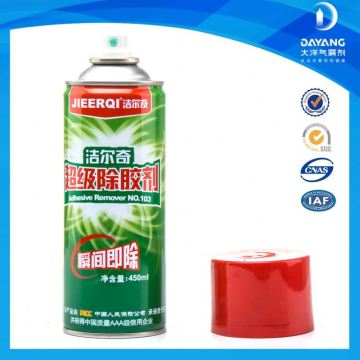 High Pressure Cleaner Polyester Transparent Hot Glue Remover Spray