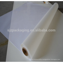 white transparent mylar Polyester Films for Cable Insulation