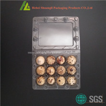 12 Holes plastic quail egg tray on sale