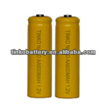 NI-CD Rechargeable Battery SIZE AA 150-1000MAH industrail package