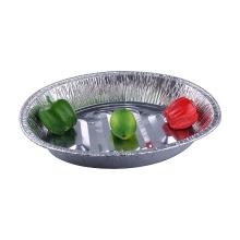Sartén de papel de pavo ovalada desechable para cocinar alimentos