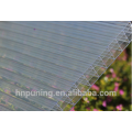 UV protected Anti-drop & easy clean polycarbonate multi-wall hollow sheet