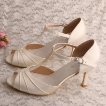 Comfy t Bar Sandals Donna per matrimonio