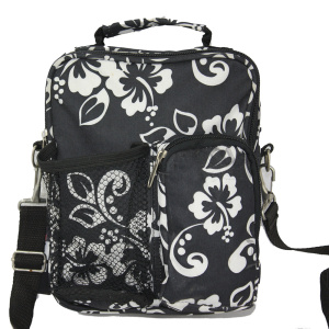 Faille Multi-purpose Cross Body Travel Shoulder Bag