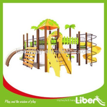 2015 PE Board Stainless Steel Slide Jungle Gym Kids Outdoor Playground