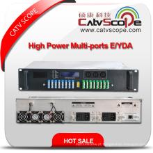 Profissional Fornecedor Alto Desempenho 32pons Alta Potência 1550nm 2u Multi-Portas Óptico Amplificador EDFA