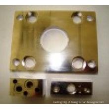 Metal de giro do CNC do OEM da precisão / parte cobre / alumínio / de alumínio