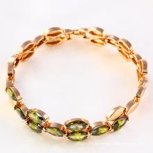Xuping Fashion Customed Arabia Nuevo modelo Gemstone CZ Jewelry Bracelet -71743