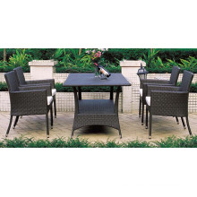 Garden Restaurant Dinng Set Rattan Furniture