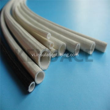 Silicone cao su tráng sợi thủy tinh Sleevings