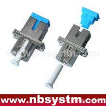 SC / PC - LC / PC HYBIRD metal Adaptador Singlemode simplex