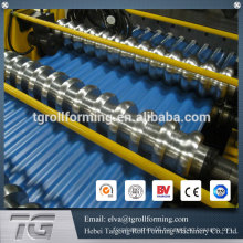 Machines for manufacturing roofing corrugated sheet roll forming machine