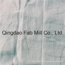 Cómoda tela 100% lino para prendas de vestir (QF16-2500)