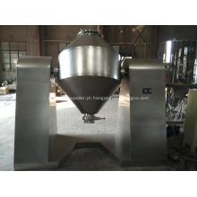 Máquina de secador de vácuo duplo cone cônico rotativo