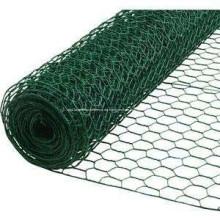 Hochwertige PVC beschichtete sechseckiger Maschendraht