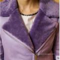 Fashion Women′s Shearling Coat Short Style