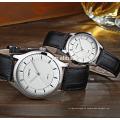 new design vogue couple watch japan quartz movement stainless steel watches