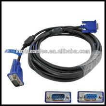 15 pinos VGA para VGA adaptador cabo diagrama de cablagem cabo vga macho para cabo fêmea