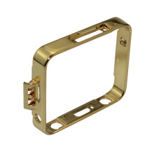 Plated  golden Wristwatch case