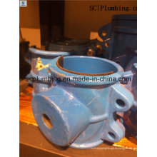 Abrazaderas de la silla del PVC del tubo de agua de la fábrica para la tubería de acero
