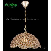 Lustre pendentif en cristal de chandelier / lumière (D-9331 / 1B)