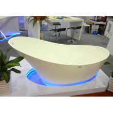 Oem Unique Matt/ Glossy Surface Acrylic Solid Surface Bathtubs Home Bathtubs
