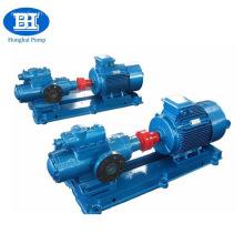 Pompe à vis triple rotative de transfert d'huile de lubrification haute pression