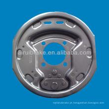 10 polegadas reboque travão elétrico placa de apoio