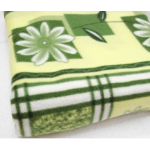 Polarfleece-Blumen-Entwurfs-Decke