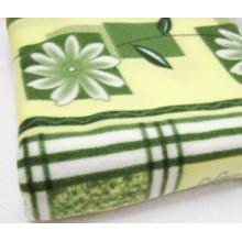 Polar Fleece Flower Design Blanket