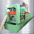 Galvanizado Steel Ridge Cap Roll formando máquina