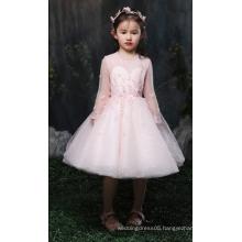 Summer Princess beautiful graffiti dress long sleeve princess dress baby girl dress ED675