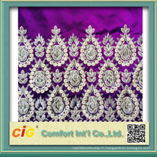 Tissu d'écharpe brodé Scfz04619