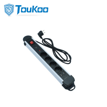 USB Lade deutsche Steckdose Power Extension