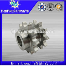 Stainless steel double strand sprocket
