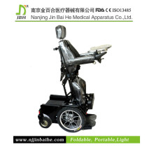 Physical therapy apparatus wheelchair stand up