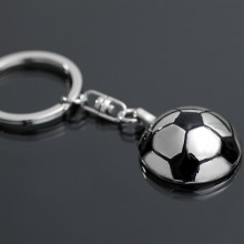 Hot Selling Hot Key-ring Halve voetbal sleutelhanger