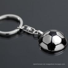 Preiswerteste Preisfabrik direktes kundenspezifisches Fußball keychain