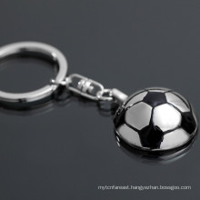 Alibaba hot sale custom keychain soccer customize