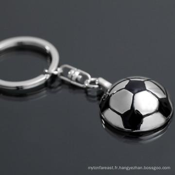 Alibaba vente chaude custom keychain soccer customize