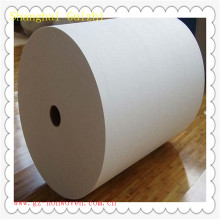 Cross lapping spunlace non woven fabric for wet tissue 70%viscose 30%polyester 45 gsm