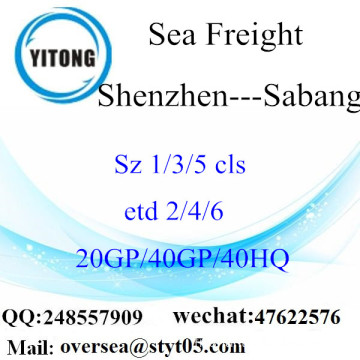 Shenzhen Port Sea Freight Shipping To Sabang