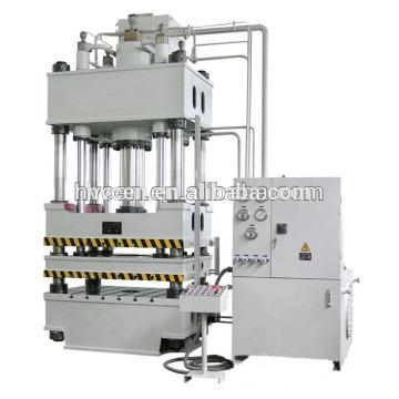 Máquina de imprensa hidráulica fibra de carbono / máquina de estampagem hidráulica