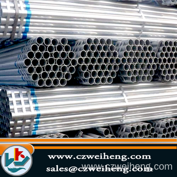 Customized for ERW Black Steel Pipe Galvanized Erw Steel Square Tube supply to North Korea Exporter