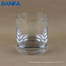 9,5 onças vidro bebendo soprado boca