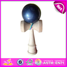 Toy Kendama Wooden Mini Kendama, Wooden Toys Children Kendama, Wooden Skill Toy Kendama, Wooden Kendama Toy with 18*7*6 Cm W01A039